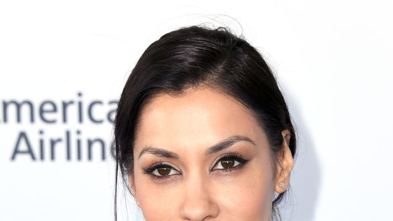 Janina Gavankar in February 2019