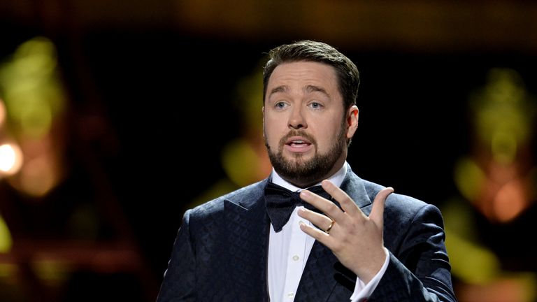 Jason Manford hosted the Olivier Awards 2019