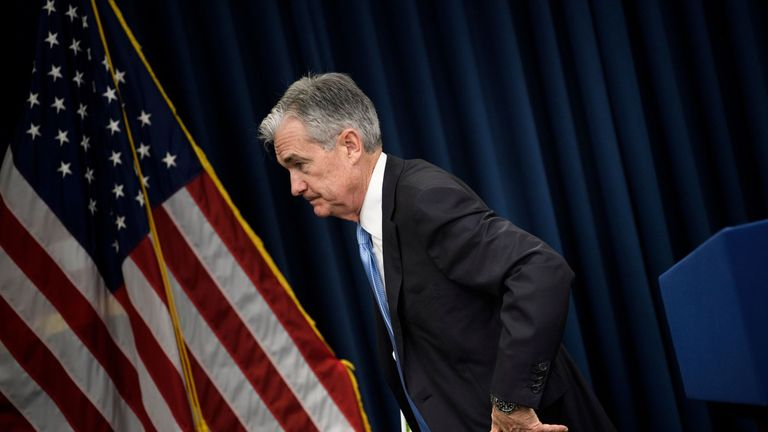 Jerome Powell become chairman of the Federal Reserve in February 2018