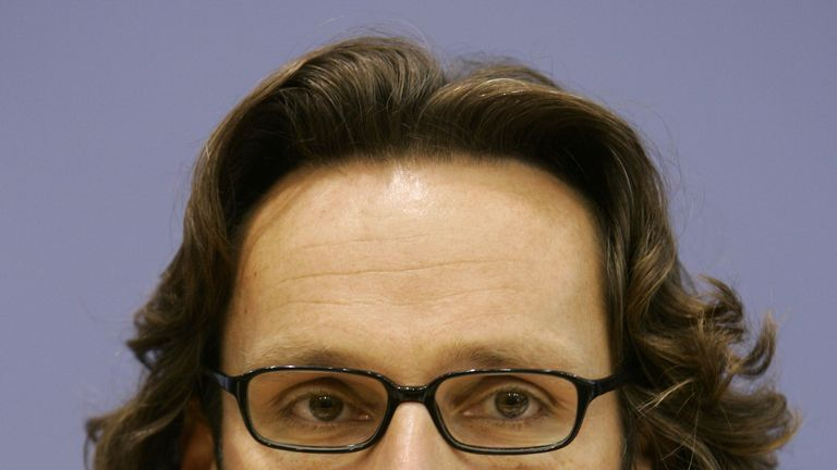 German deputy Foreign Ministry spokesman Jens Ploetner addresses a news conference in Berlin October 20, 2006