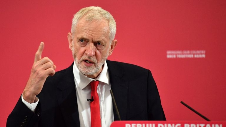 Jeremy Corbyn has said low income households would benefit from the changes