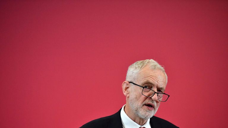 Jeremy Corbyn has faced growing pressure to give firmer backing for a second referendum