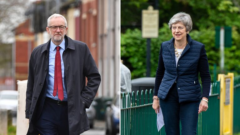 Theresa May and Jeremy Corbyn have acknowledged that Brexit had an impact on their disappointing nights