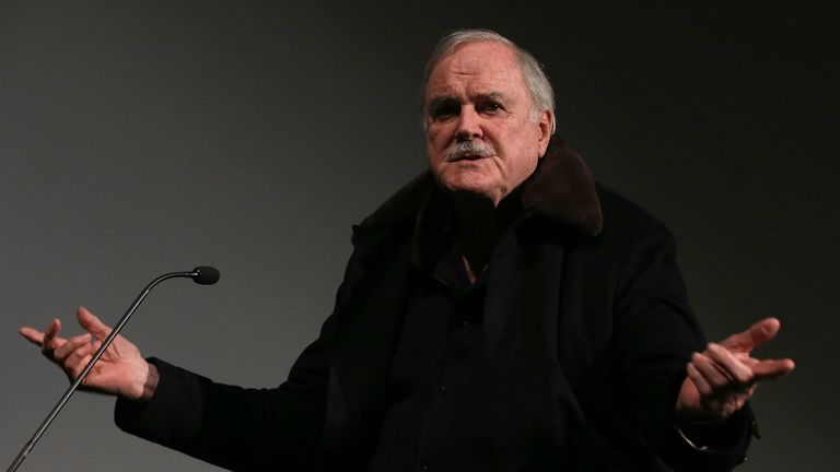 Cleese at BFI Southbank on December 7, 2014 in London, England.