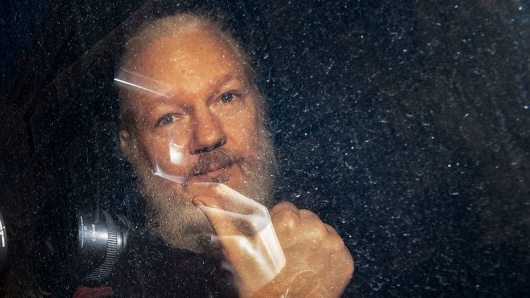 Julian Assange's fight against extradition to the US has begun