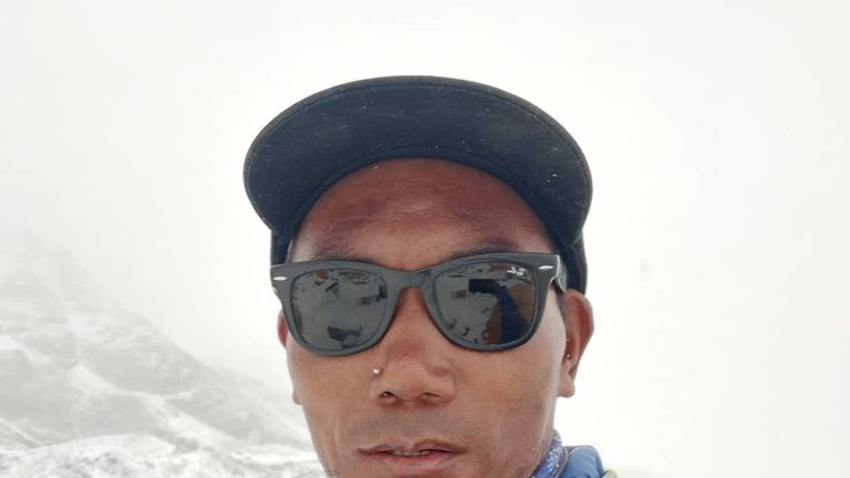 49-year-old Sherpa Kami Rita reached the top of Mount Everest for the 23rd time. Pic: Instagram/@kamiritasherpa