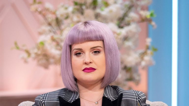 Kelly Osbourne is in London to host the British LGBT Awards