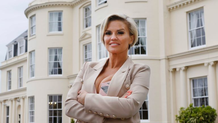 Kerry Katona officially opens The Hygrove, a new and exclusive sanctuary where members can recover from drug and alcohol addictions in peace and luxury, on May 3, 2018 in Gloucester, England. (Photo by Antony Thompson for The Hygrove via Getty Images)