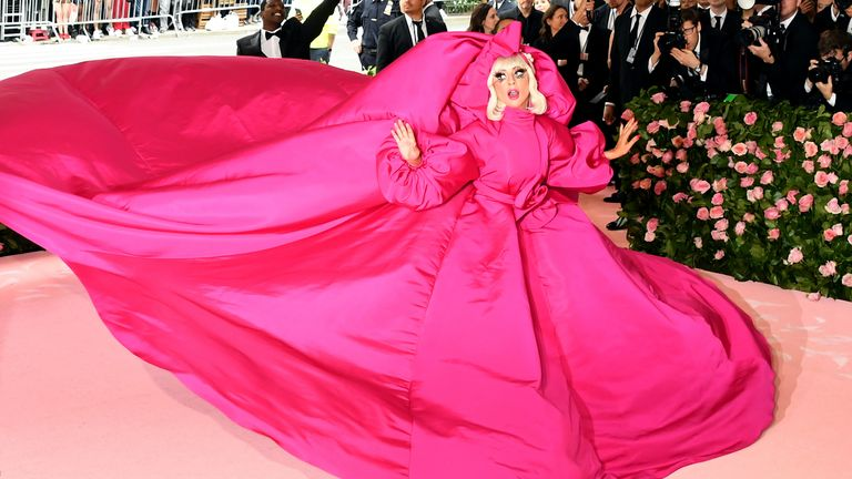 Lady Gaga's first look