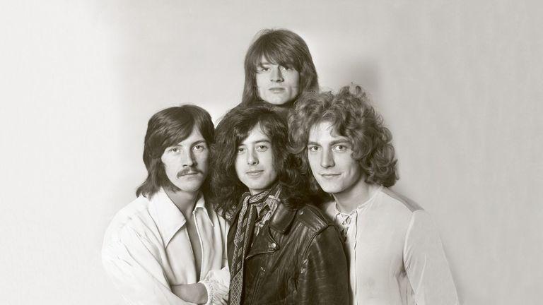Led Zeppelin. Pic: Dick Barnatt / Redferns (Getty Images)