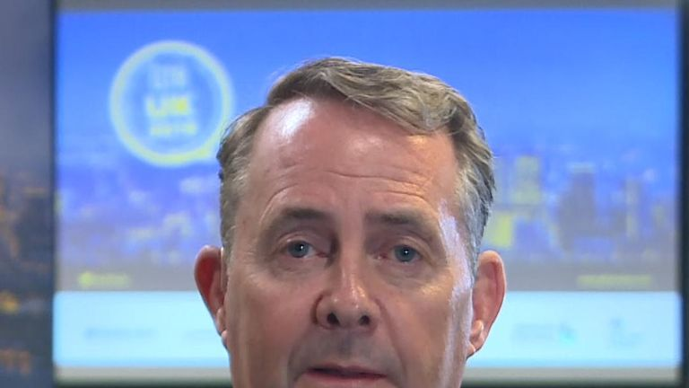 Liam Fox wants to see a 'new model' for trading with the EU after Brexit