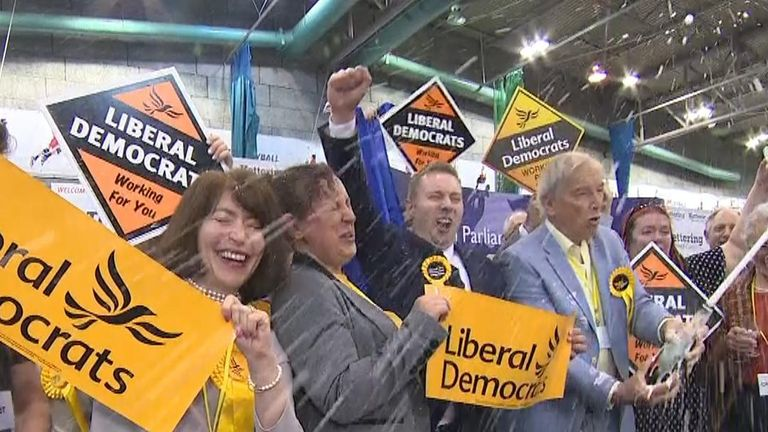 The UK public sends a message to the bigger parties, as The Brexit Party and Lib Dems storm ahead of Labour and the Tories.