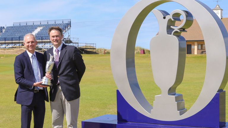 More chance of a hole in one? David Lington (left) has suggested the talks could resume
