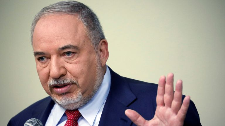 Avigdor Lieberman is the former Israeli Defence Minister