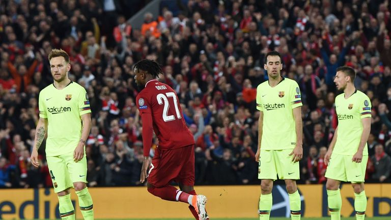 Barcelona players were left stunned by the turnaround