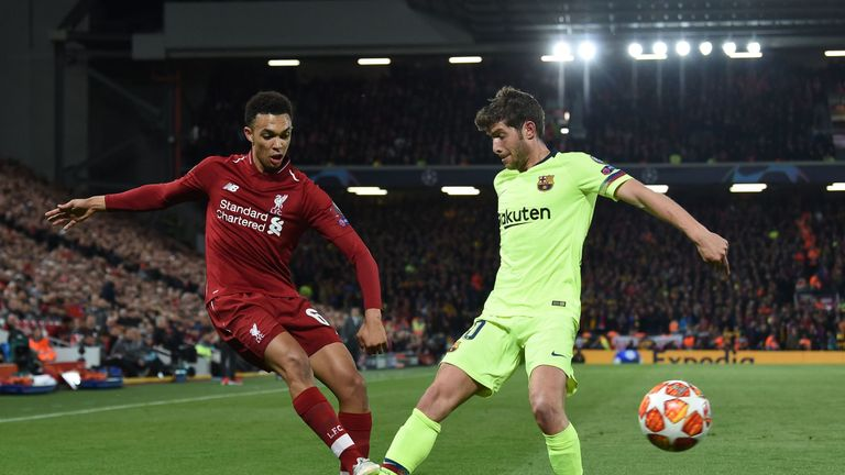 Trent Alexander-Arnold played a key role in the fourth goal