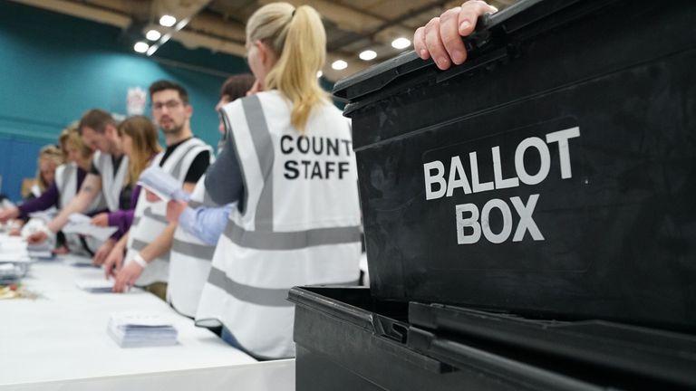 Stoke ballot counting
