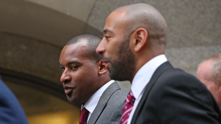 Pc Wayne Marques (l) and PC Leon McLeod (r) at the inquest