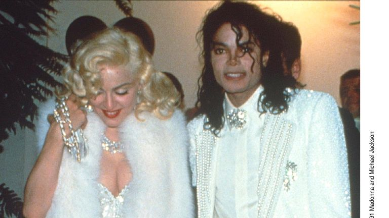Madonna and Michael Jackson at the Oscar Academy Awards Ceremony, Los Angeles, America - 1991