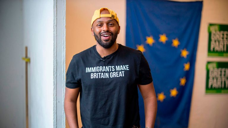 Green Party MEP candidate and former Sheffield Lord Mayor Magid Magid