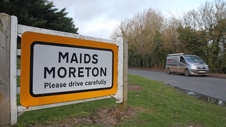 Maids Moreton in Buckinghamshire was the scene of two murders