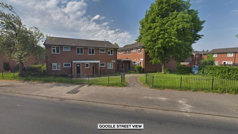 The bodies were found in the Newton Heath area