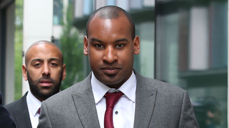 Pc Wayne Marques took on all three attackers at once