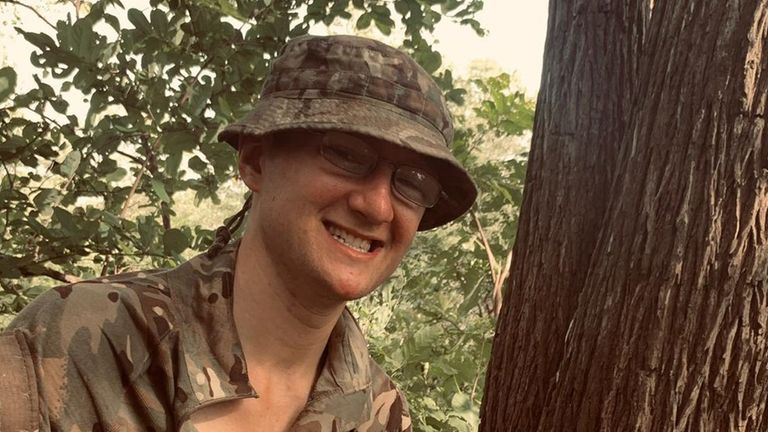 Guardsman Mathew Talbot, 22, was on patrol in Liwonde National Park on Sunday