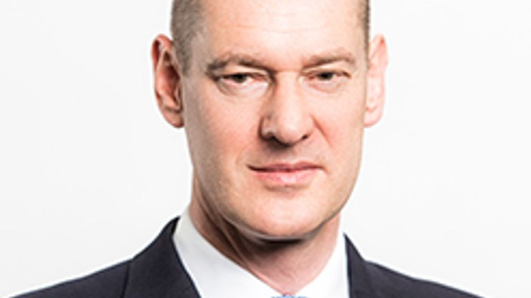 Matthew Gregory took the CEO role last November. Pic: First Group