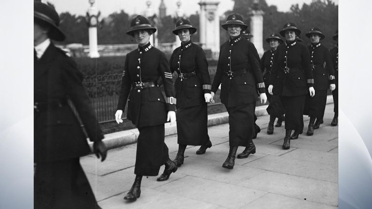 A hundred years has passed since women were first allowed to join the Met Police