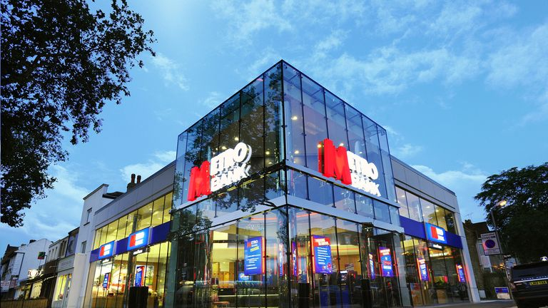 Metro Bank has more than 60 branches