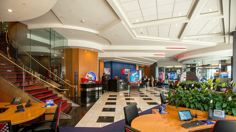 Metro Bank has committed to branch-based banking services as the big banks close sites nationwide