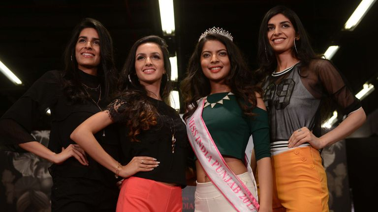Models audition for Miss India 2018 competition (File pic)