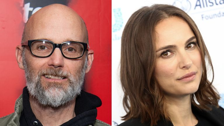 Natalie Portman brands Moby 'creepy' after he claimed they dated each other
