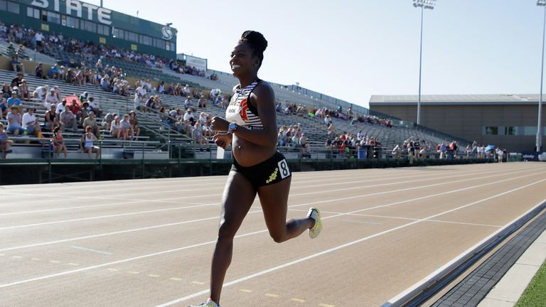 Alysia Montano became known as the pregnant runner