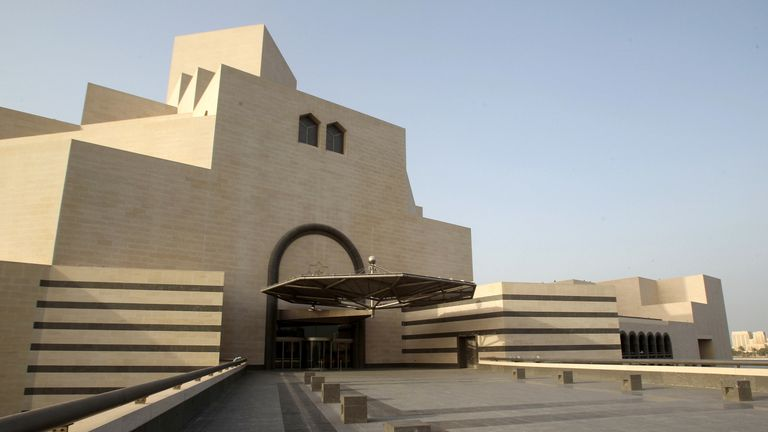 I.M. Pei designed Museum of Islamic Art in Doha, Qatar