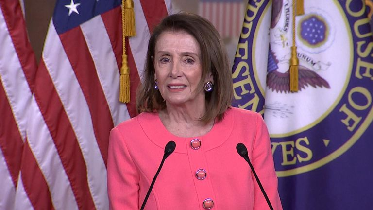 US Speaker Nancy Pelosi has accused the Attorney General William Barr of lying to Congress.