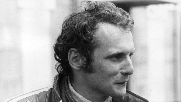 Lauda in 1975, prior to his crash at the Nurburgring