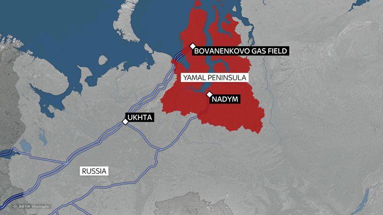 The Yamal pensinsula