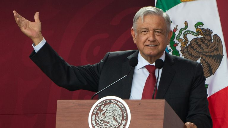 Obrador says Mexico is doing what it can to curb migration without violating human rights