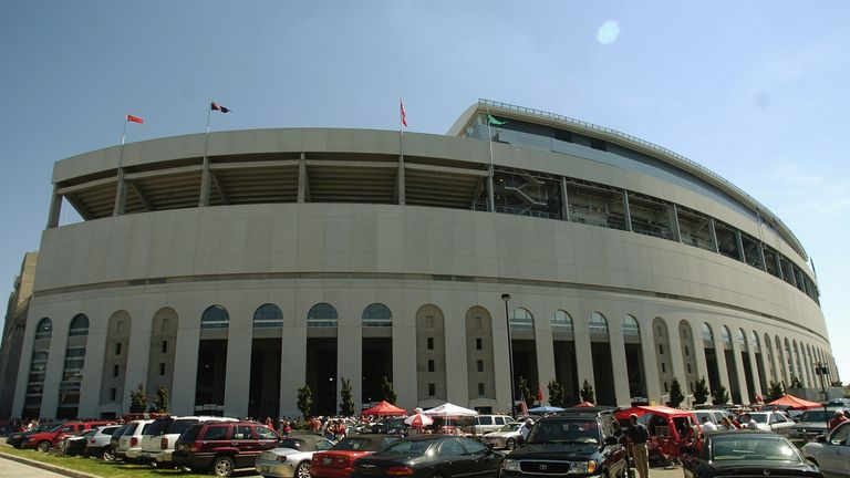 Ohio Stadium - Richard Strauss worked with athletes at Ohio State in the 1970s, 80s and 90s