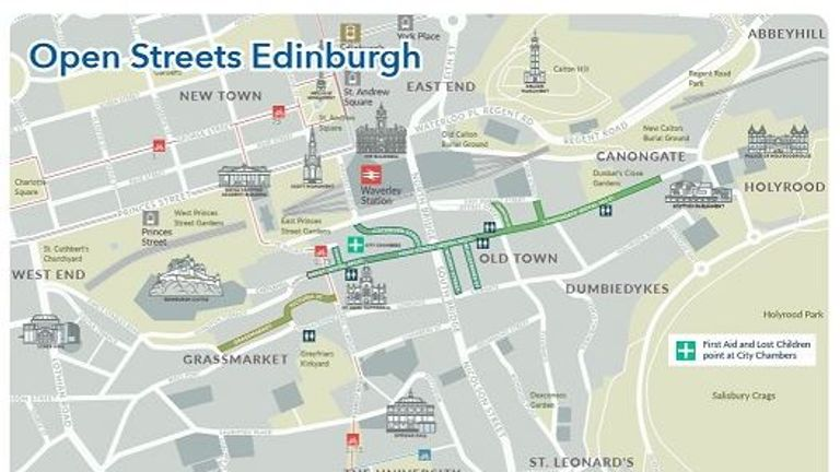 Open Streets Edinburgh