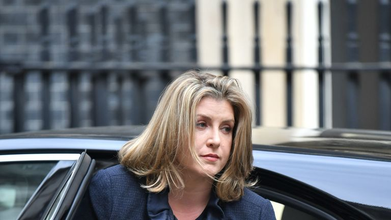 Royal Navy reservist Penny Mordaunt has become the UK's first female Defence Secretary