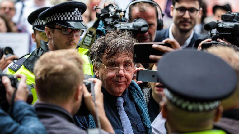 Peter Willsman has been suspended