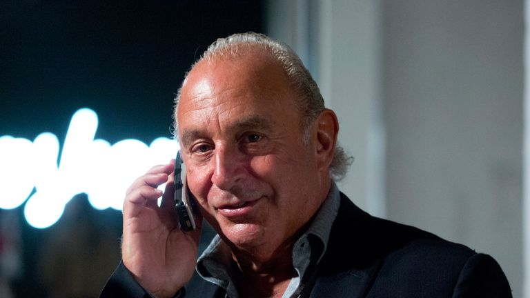 Sir Philip Green's retail empire dives to £177m loss