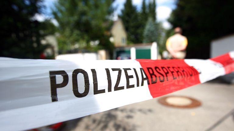 Three bodies were found in a hotel room in Passau. File pic