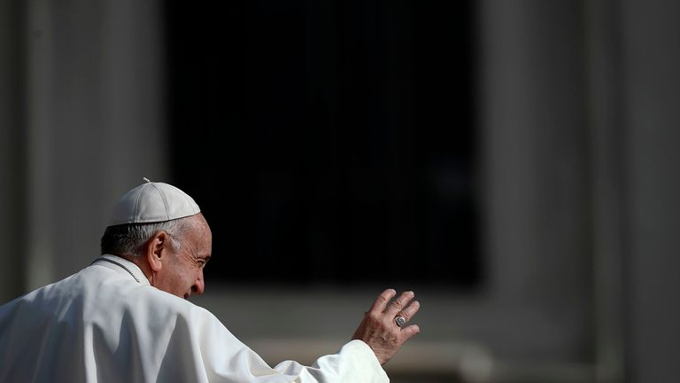 Pope orders all priests and nuns to report sexual abuse