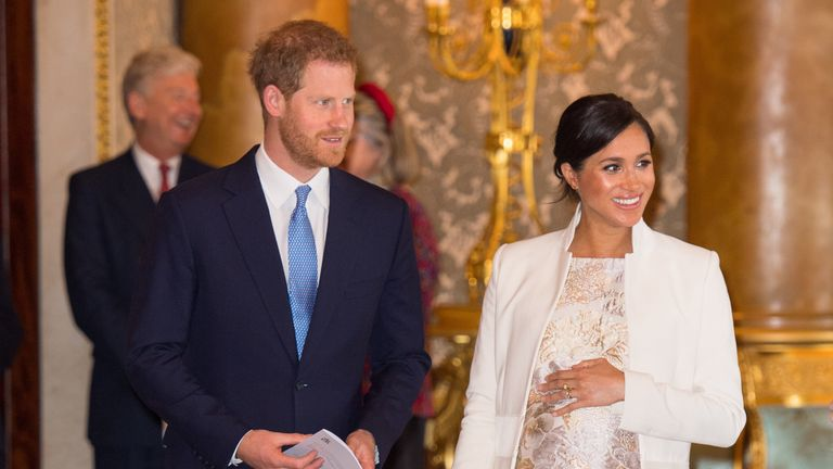 Prince Harry, Duke of Sussex, and Meghan, Duchess of Sussex