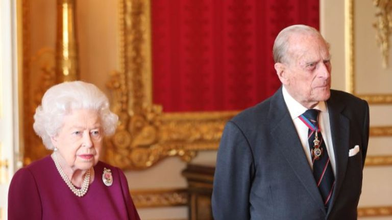 The Queen was hosting an event at Windsor Castle