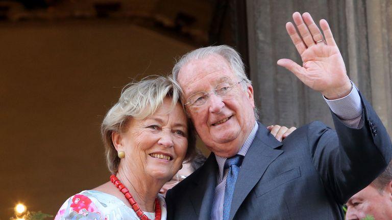 Queen Paola and King Albert II of Belgium have been married since 1959
